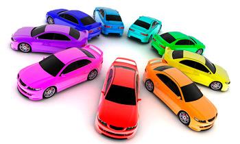 подбор красок для автомобилей