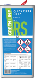 ЛАК GREEN LINE QUICK CLEAR HS 2:1, 5000 МЛ