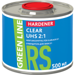 ОТВЕРДИТЕЛЬ ДЛЯ ЛАКА GREEN LINE HARDENER CLEAR UHS 2:1, 500МЛ