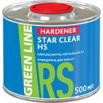ОТВЕРДИТЕЛЬ ДЛЯ ЛАКА GREEN LINE HARDENER STAR CLEAR HS 2:1, 500 ML