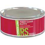 ШПАТЛЕВКА СО СТЕКЛОВОЛОКНОМ GREEN LINE FIBER GLASS PUTTY, 1000 гр
